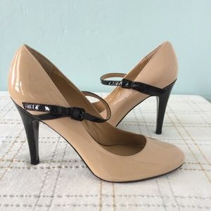 Nine West Mary Jane Patent Leather Heels, 6 1/2M